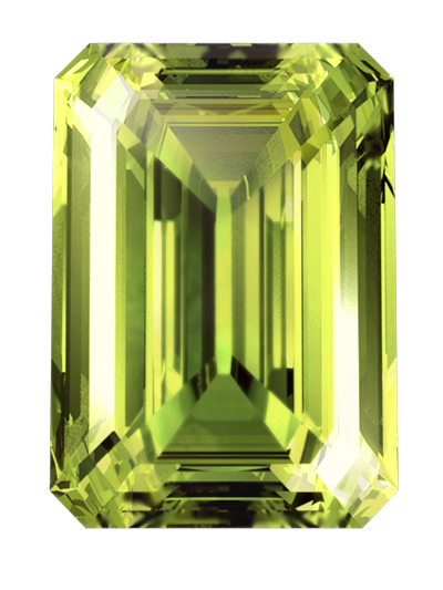green color cremation diamonds